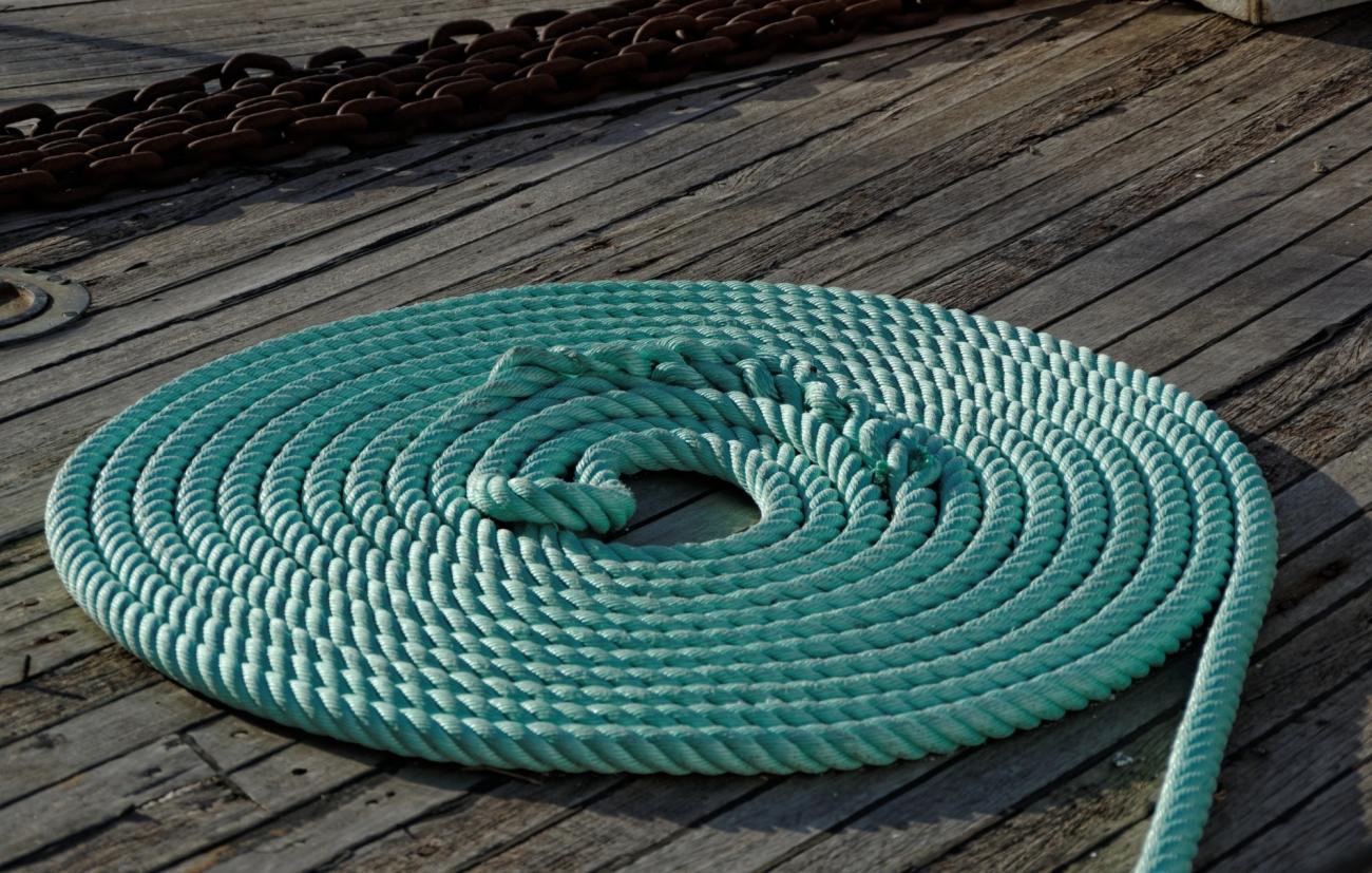 spirale cordage marin, ambiance marine, cordage, Vannes