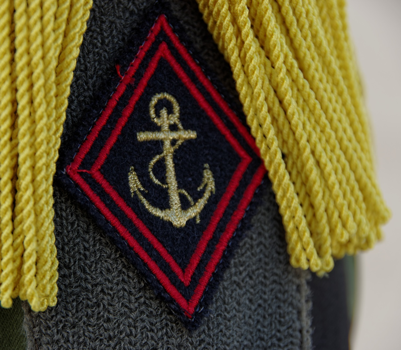 insigne d'épaule, l'ancre d'infanterie de marine, 3e RIMA, Vannes