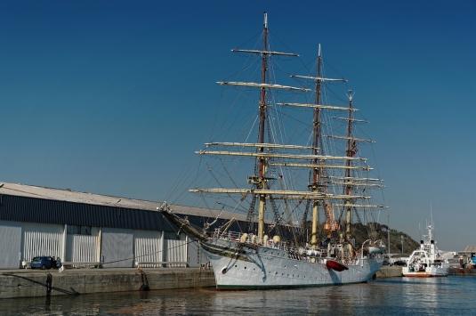 Le Sorlandet, 3 mâts, à Brest