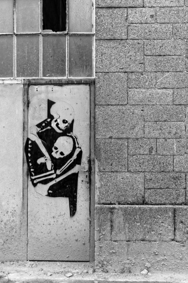 plateau des Capucins, Brest, finistère, Bretagne, tags, street art