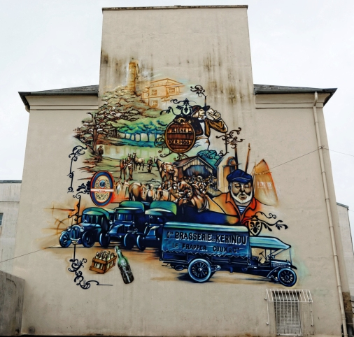 fresque murale à Brest - 138 rue Robespierre