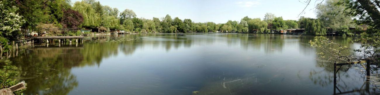 panorama étangs de Baulne, pose longue, essonne, étangs,