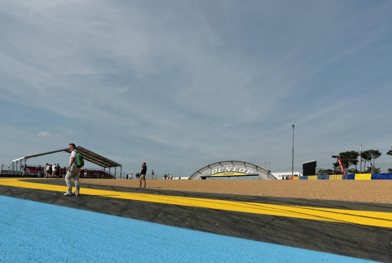 circuit 24 Heures du Mans, Le Mans, course automobile, pont Dunlop Le Mans,