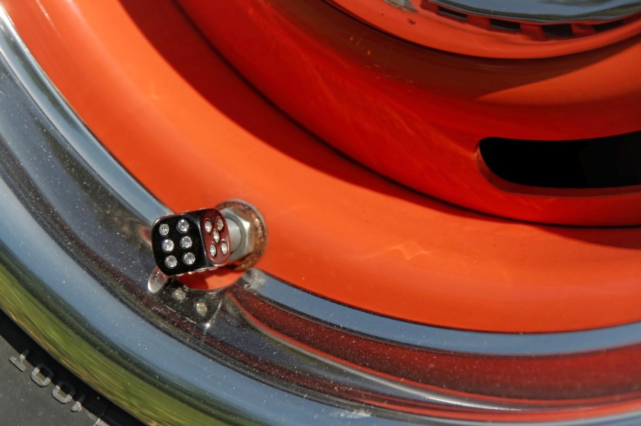 bouchon valve pneu, dé, voiture,