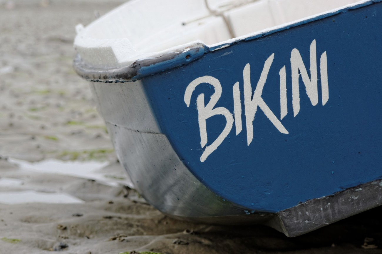 bateau, Koréjou, Plouguerneau, bikini, bretagne, finistère