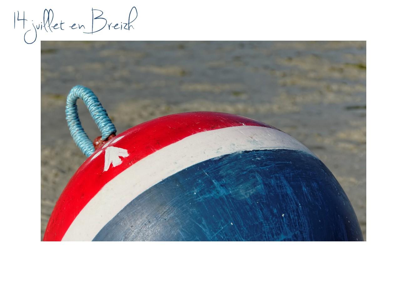 bouée, bouée d'amarage, bleu blanc rouge, 14 juillet,  fête nationale française, bretagne, finistère