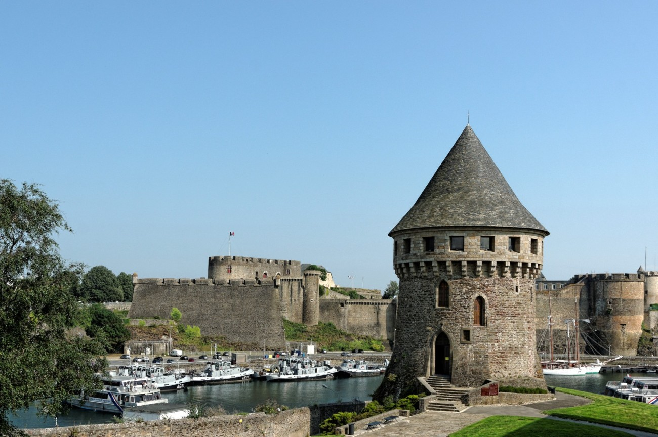 Brest, finistère, tour Tanguy, bretgne