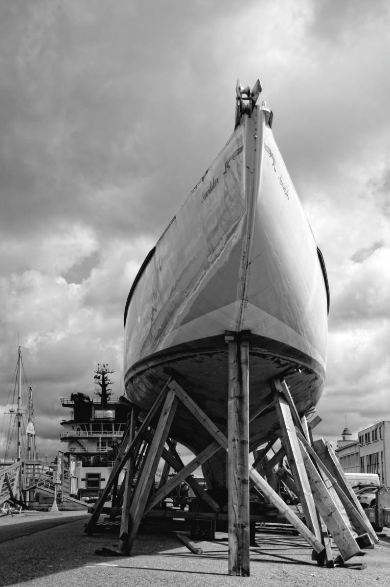 port de commerce de Brest,