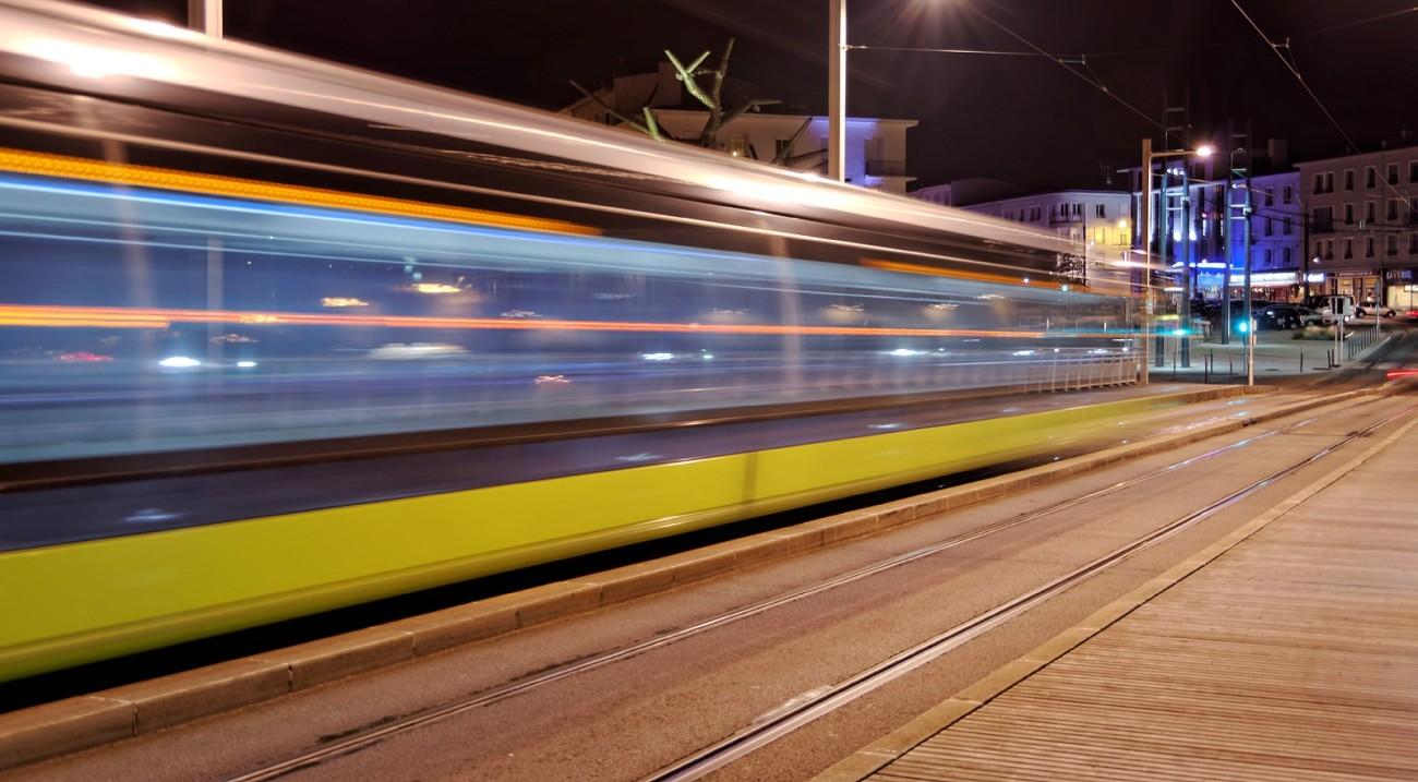 filé tramway bibus de nuit Brest