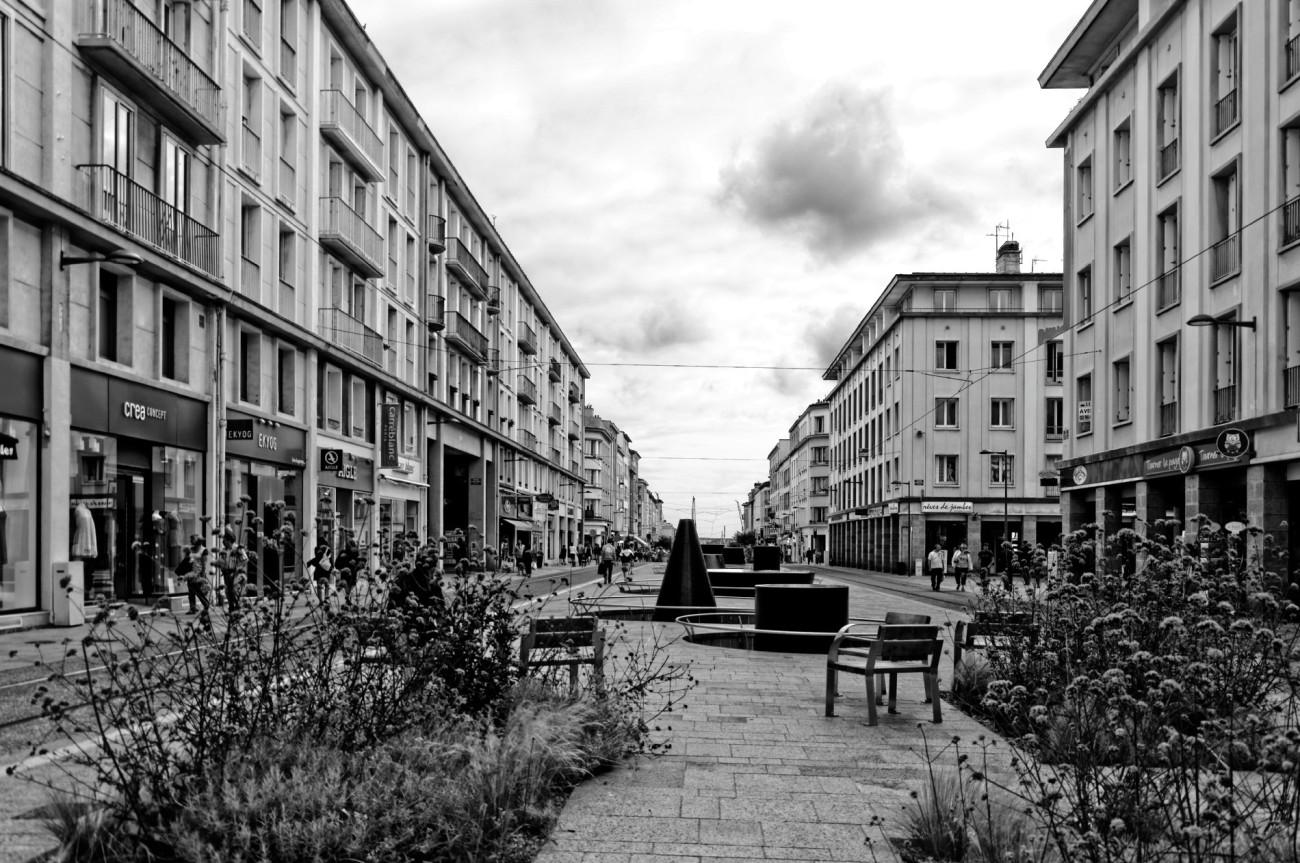 rue de Siam, Brest,fontaines, finistère, bretagne,fontaines de Marta Pan