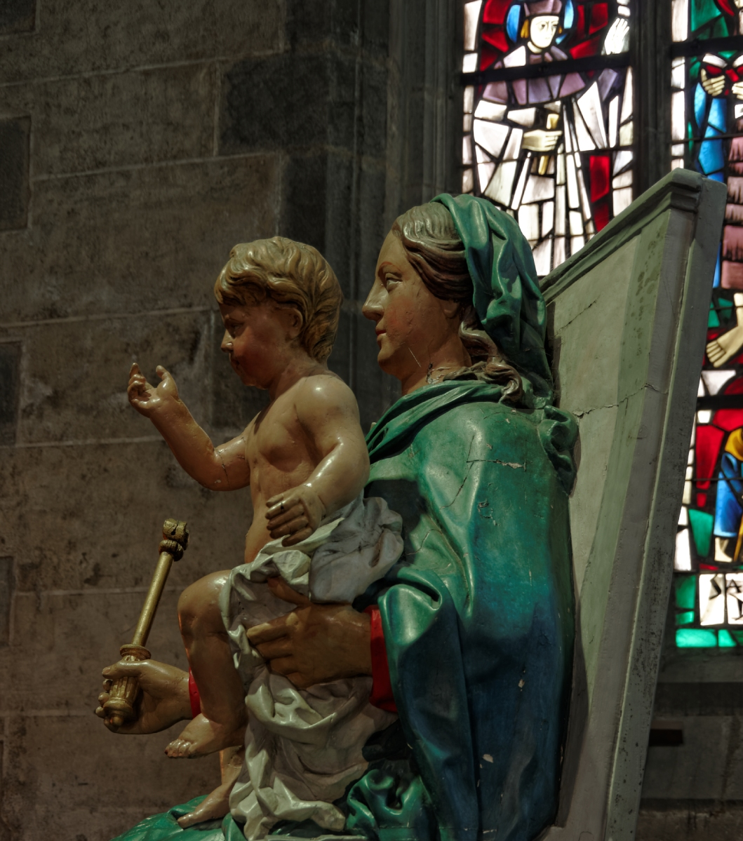 Basilique Notre Dame du Folgoet, Le Forlgoet, finistère, bretagne, architecture, édifice religieux