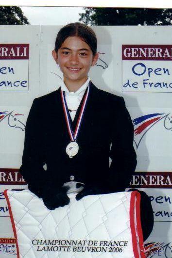 podium Nina Lamotte Beuvron 2006