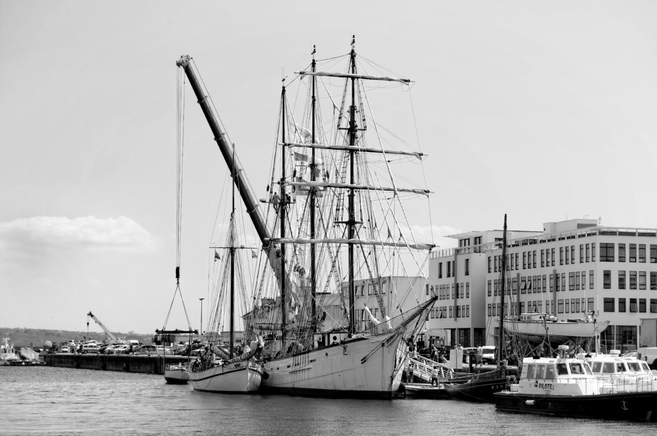 Le Marité quai Malbert à Brest