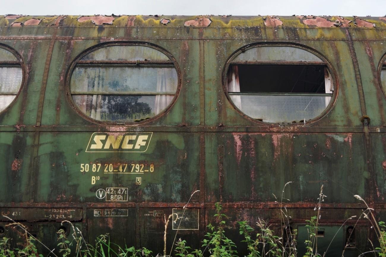 wagon, train, fer, gare