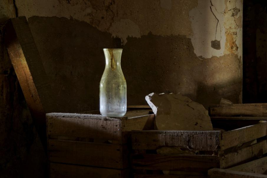 carafe dans cave du château Popkov