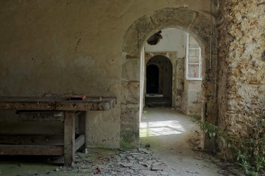caves couloir château Popkov