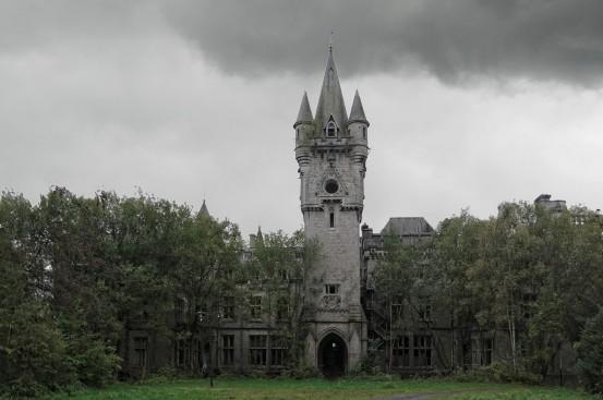 Château Miranda façade avant