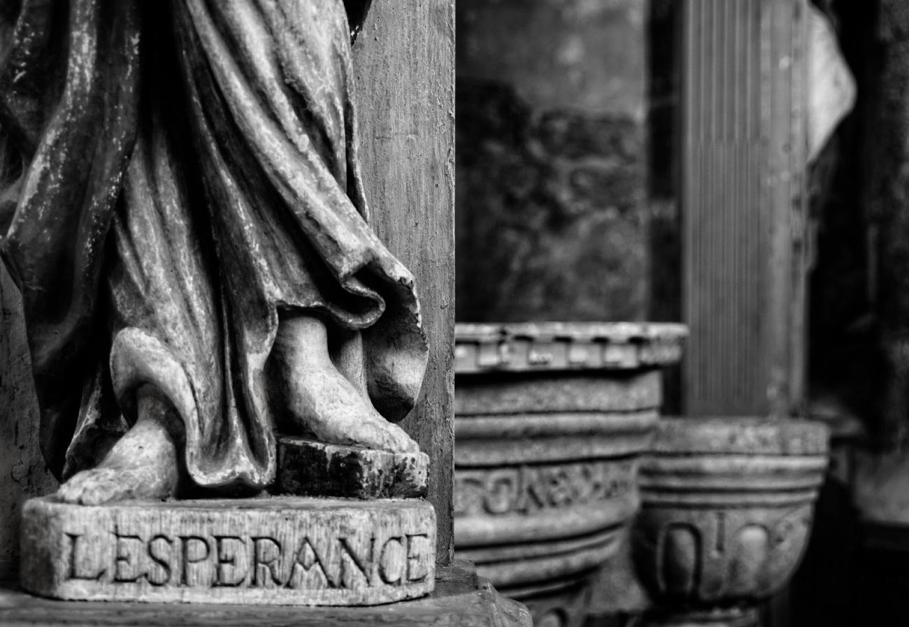 baptistère, Commana, église, bretagne, finistère