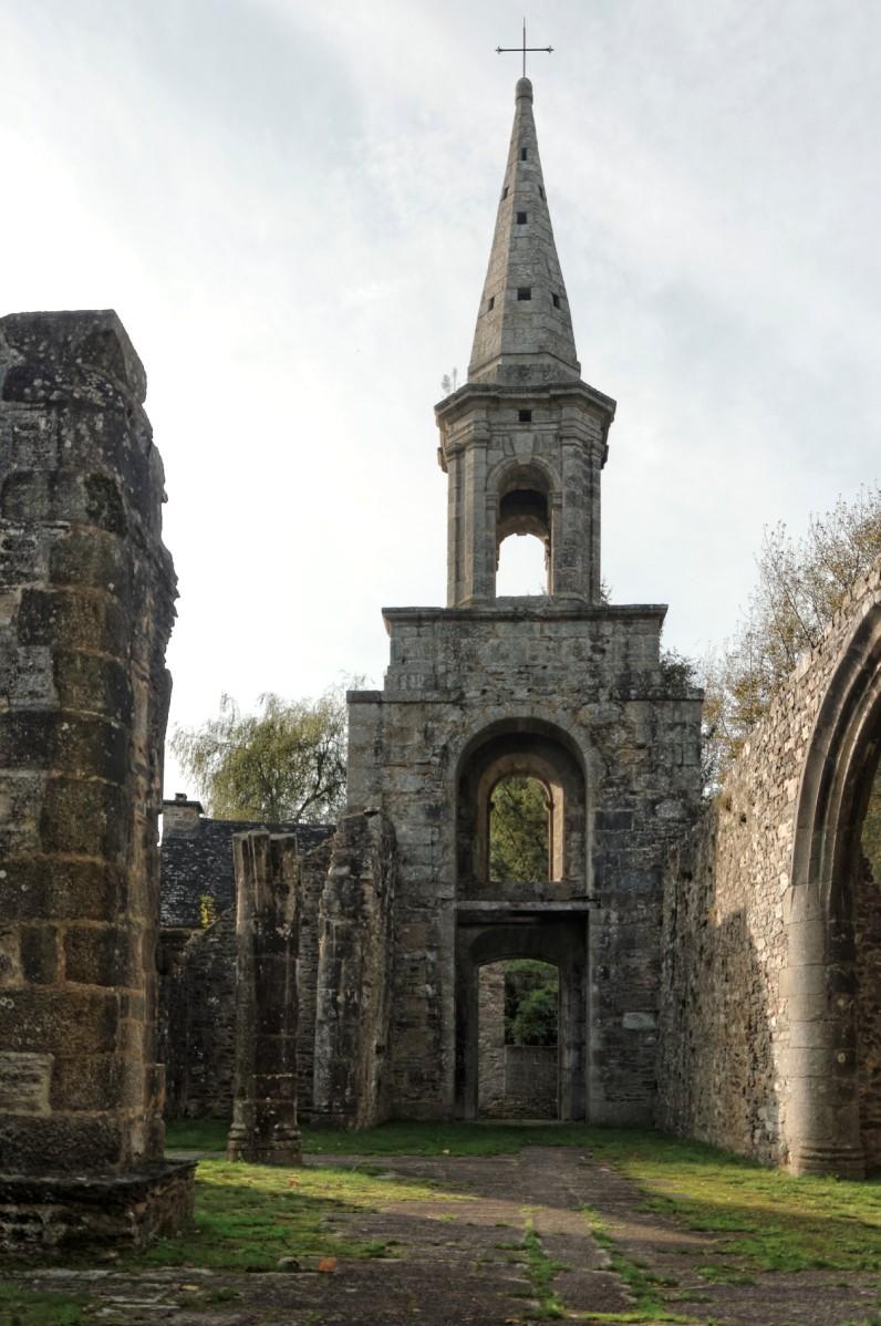 Pont-Christ, chapelle, chapelle Pont-Christ,  La Roche Maurice, automne, architecture