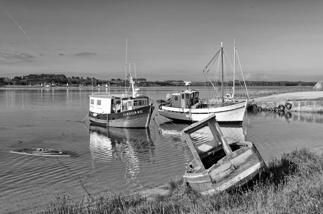 bateaux, bretagne, finistère, Guirnivit, Plouescat