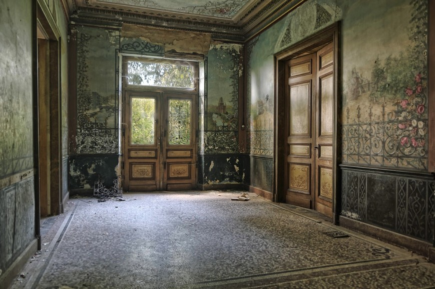 château d'Ah, hall d'entrée
