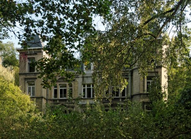 château d'Ah, façade avant