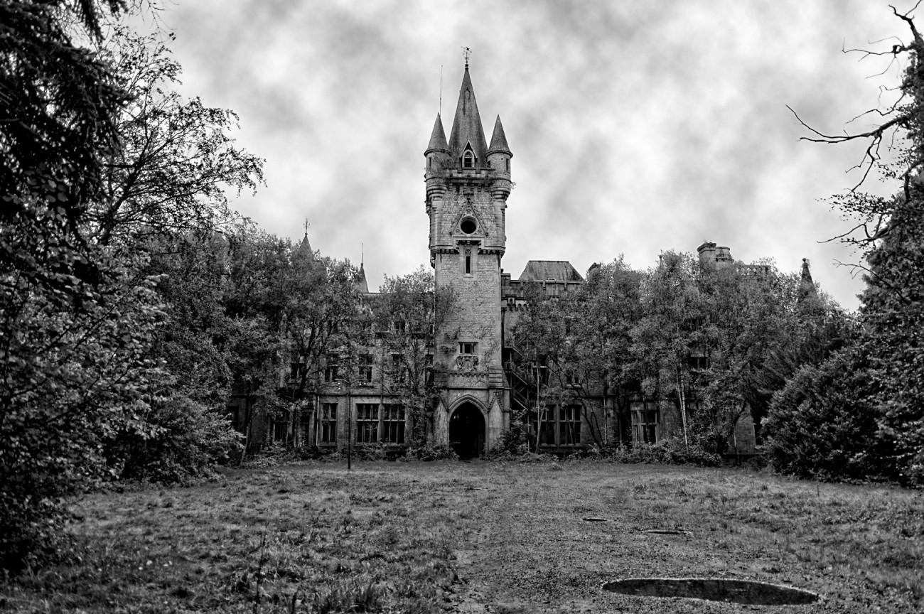 le château  Miranda, urbex, exploration urbaine
