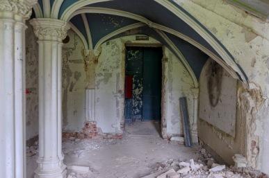 rez-de-chaussée château Miranda