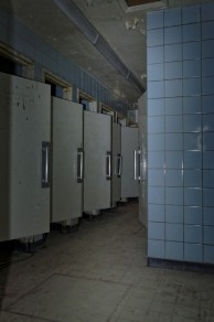 douches sous-sol château MIranda