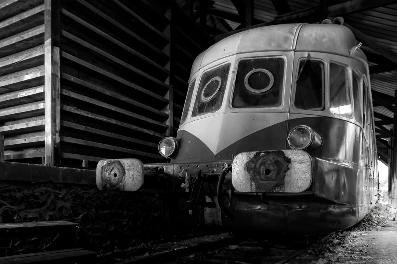 noir et blanc, locomotive, vieux trains, Pacy sur Eure