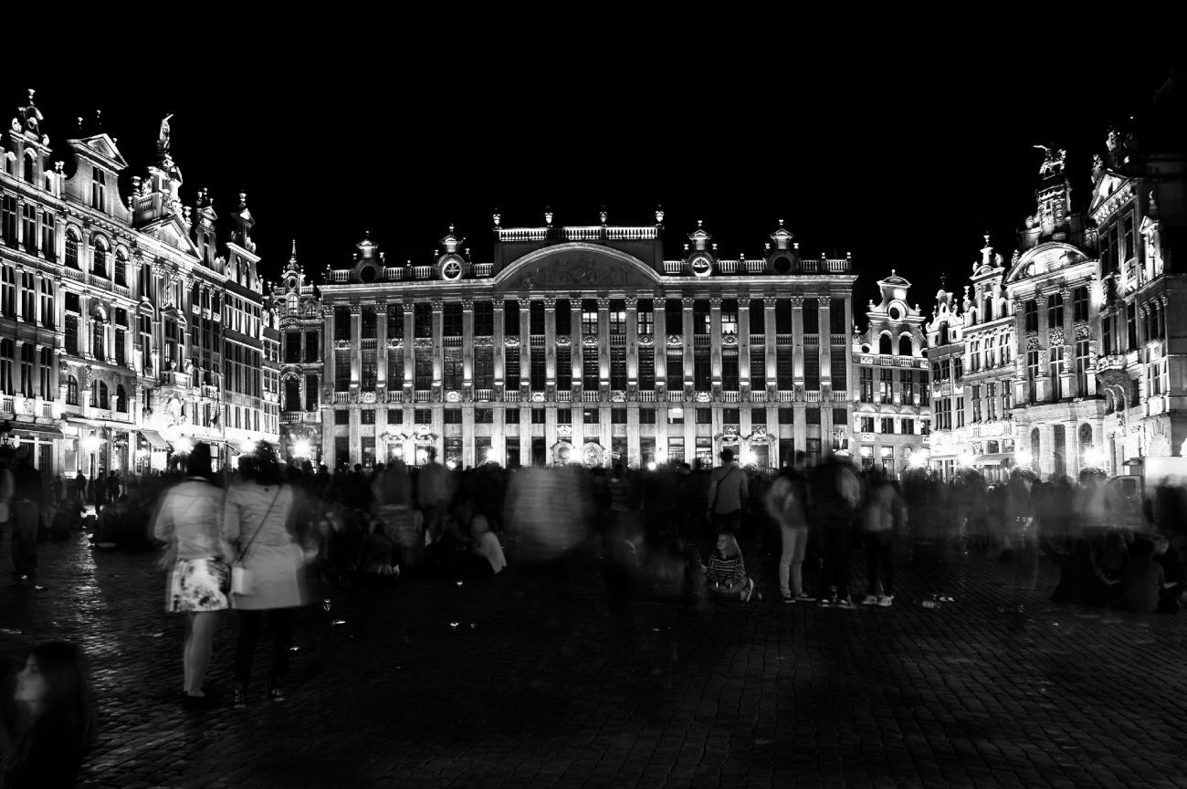 Bruxelles, Belgique, Grand-Place, Bruxelles de nuit