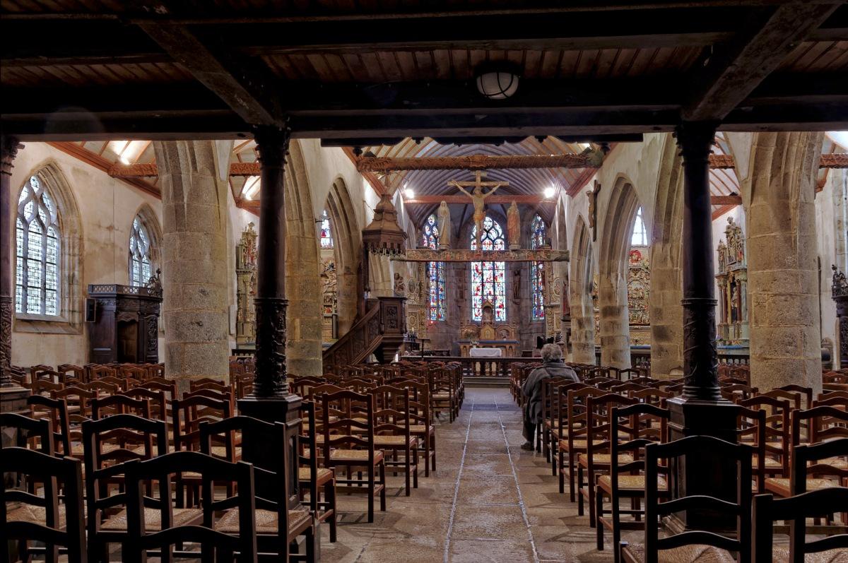 église Notre Dame à Lampaul Guimiliau