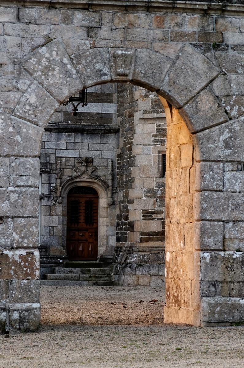 château de Keruzoret, Plouvorn, bretagne, finistère, lumière