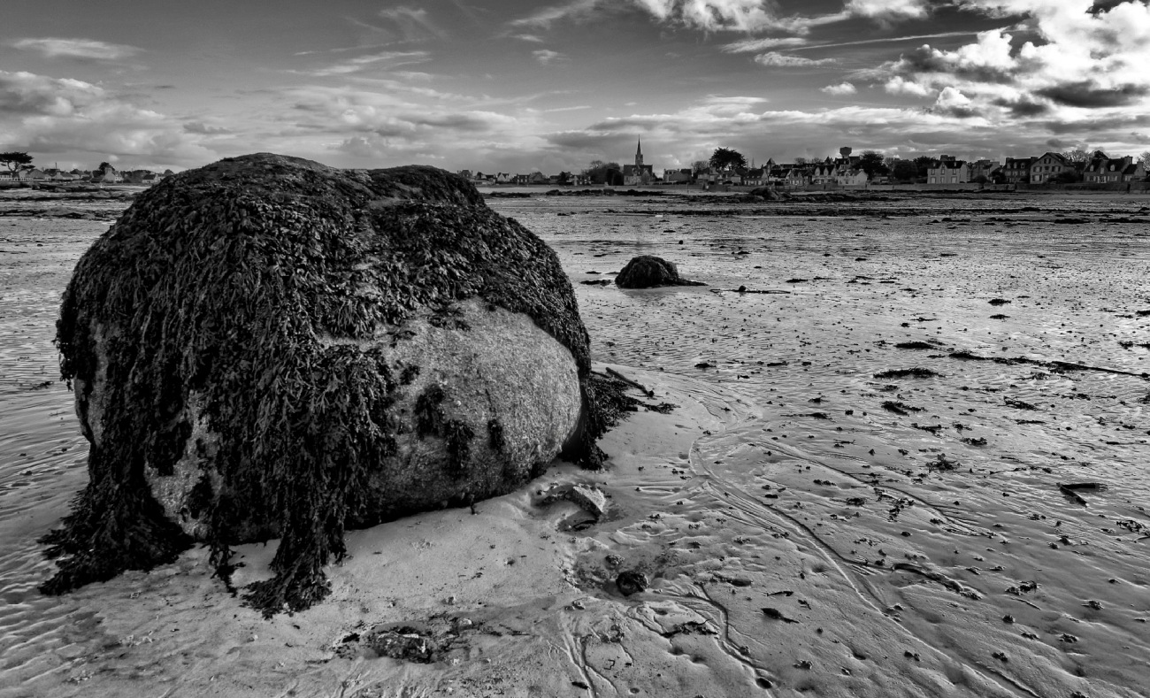 Brignogan-Plages, mer, rochers, plage, finistère, bretagne,smc Pentax 12-24mmF4 ED AL[IF],noir et blanc