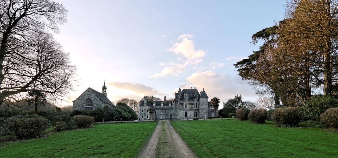 château de Keruzoret, Plouvorn, bretagne, finistère