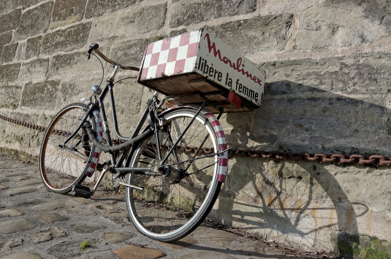 vélo, vélo moulinex, moulinex libère la femme, Port de l'Arsenal à Paris, Paris IVe, Bd Bourdon IVe,