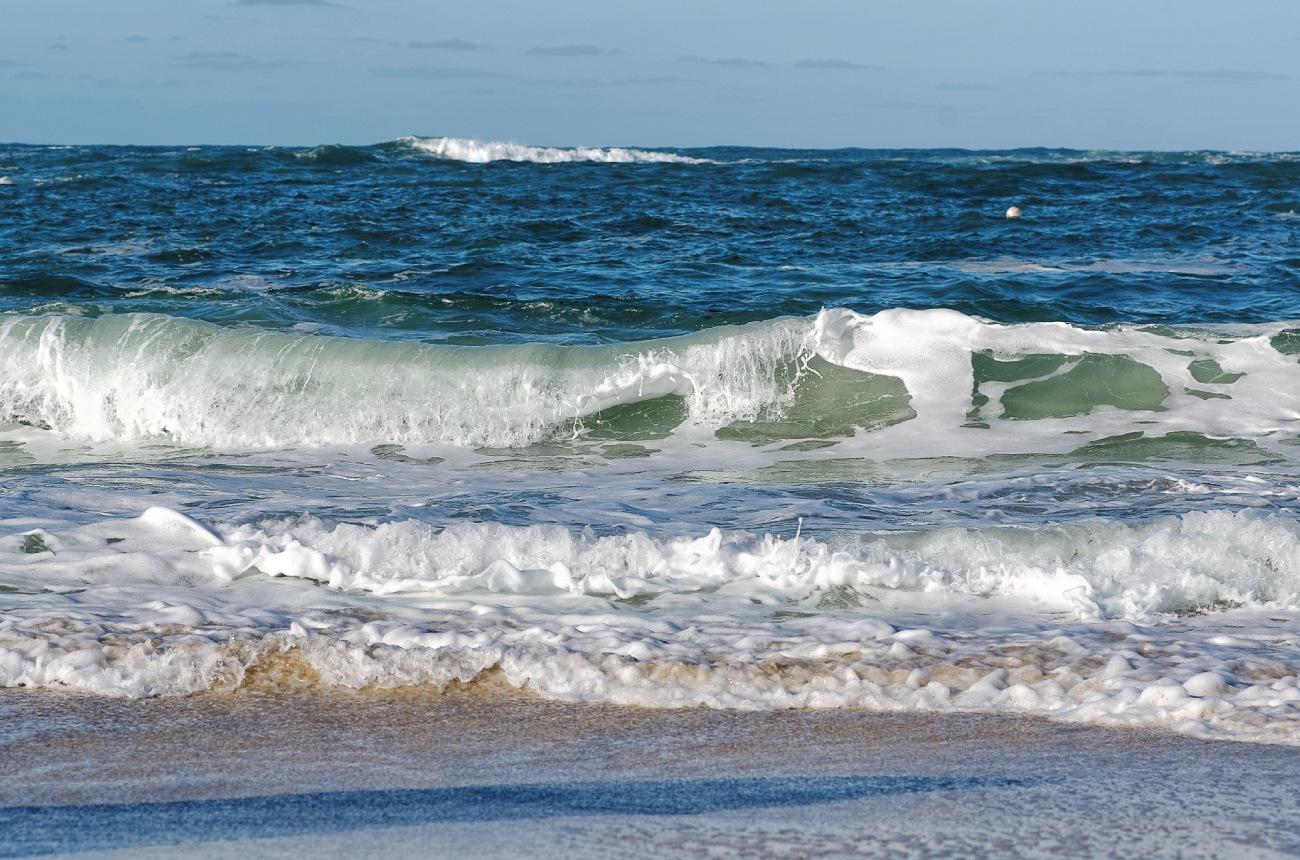 vagues, Manche, mer, finistère, Bretagne, Guisssény