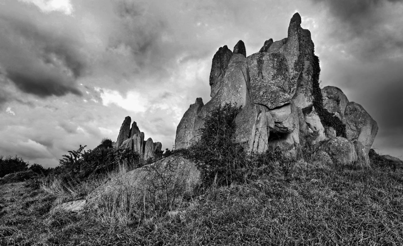 les Barrachou, Guissény, rochers, bretagne, finistère