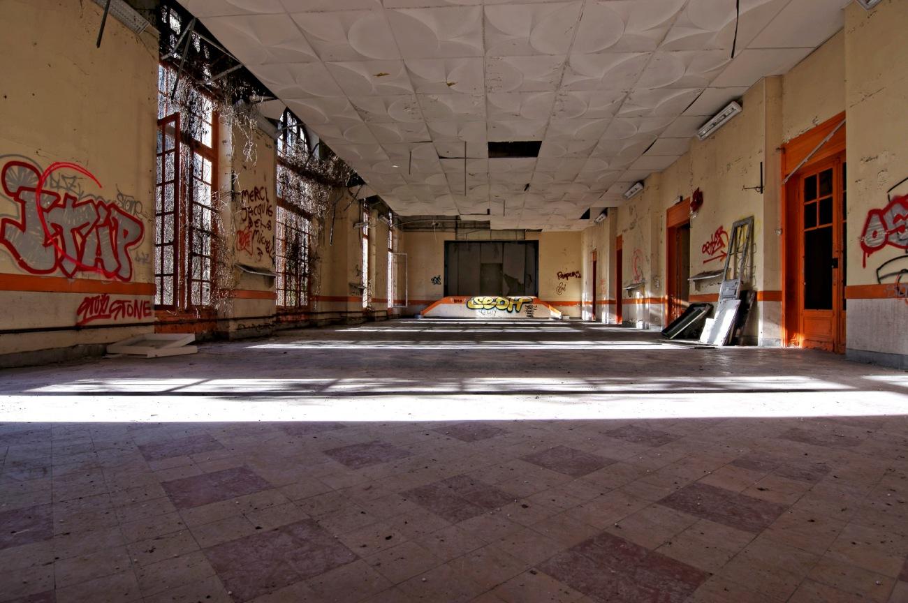 sanatorium delirium, exploration urbaine, urbex