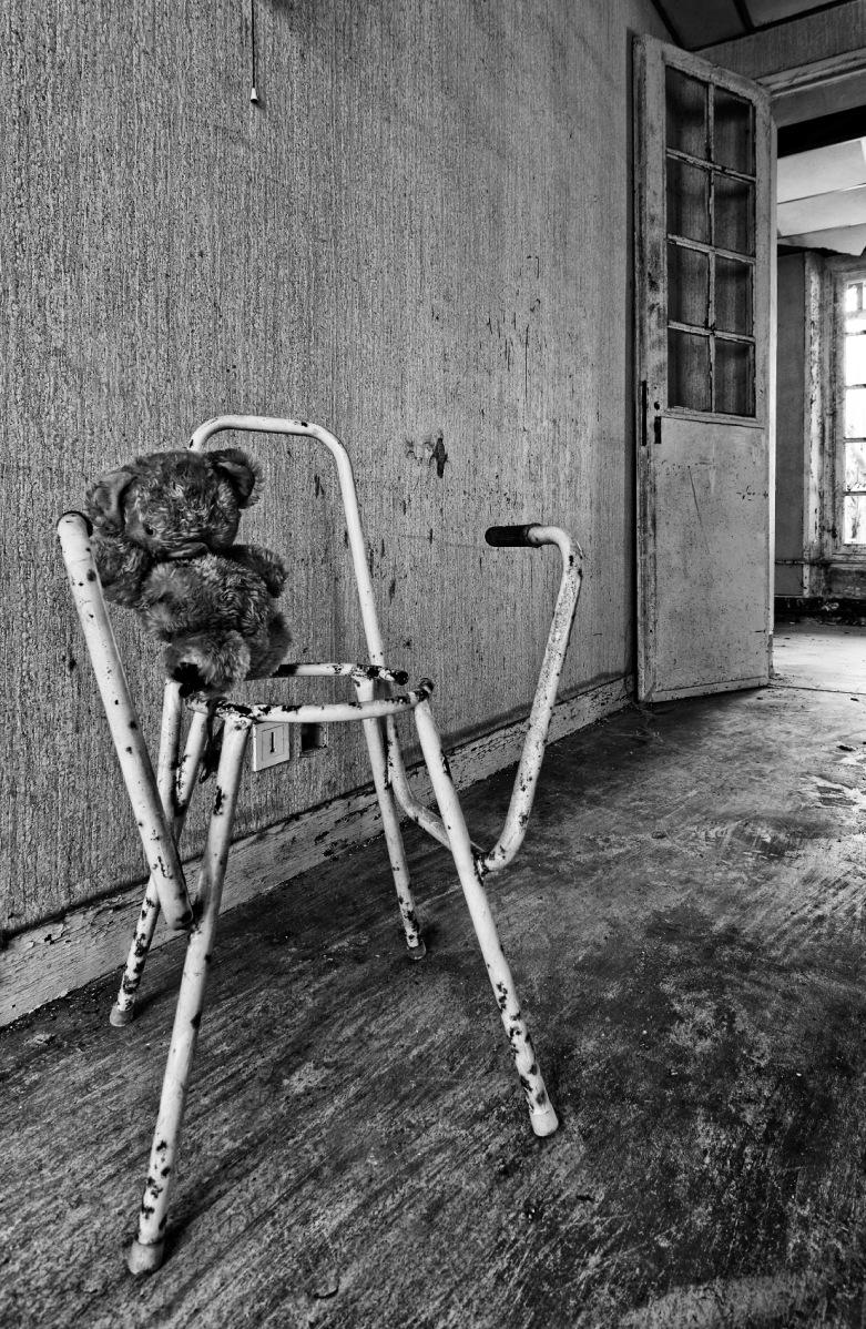 nounours borgne, sanatorium delirium, urbex, exploration urbaine
