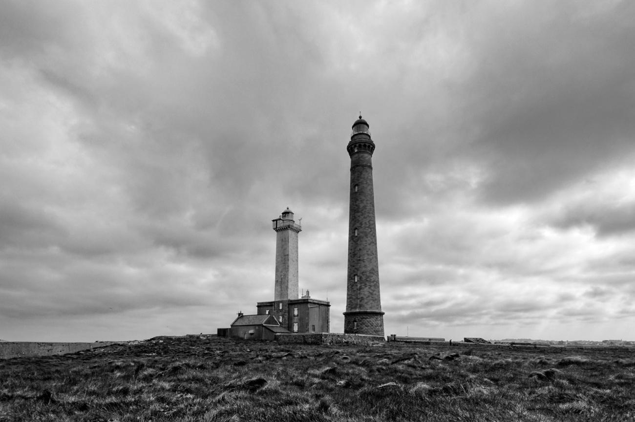 phare de l'île vierge, lilia, grande marée 119, finistère, bretagne