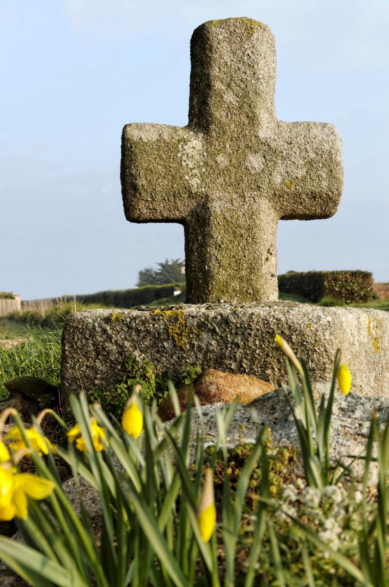 croix Terrohant, croix bretonne, Guissény, finistère, bretagne
