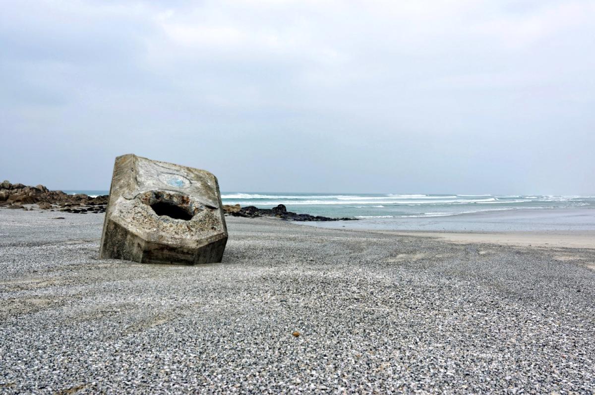 pointe de la Toche, blockhaus plage de la Torche, Plomeur, bretagne, finistère