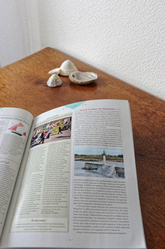 revue Chasse-Marée n° 268, publication photo revue Chasse-Marée, Moguériec, article Sauver le phare de Mogueriec
