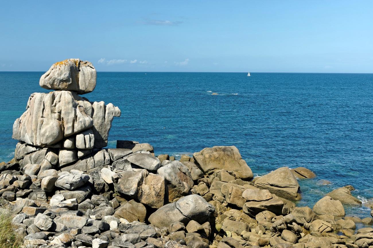 rochers, les Amiets, finistère, bretagne