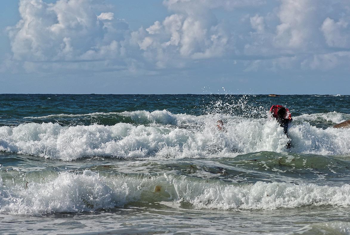 Plage de Mechou Mez An Aod (Saint-Egarec),Kerlouan, bretagne, finistère, vagues, bodysurf