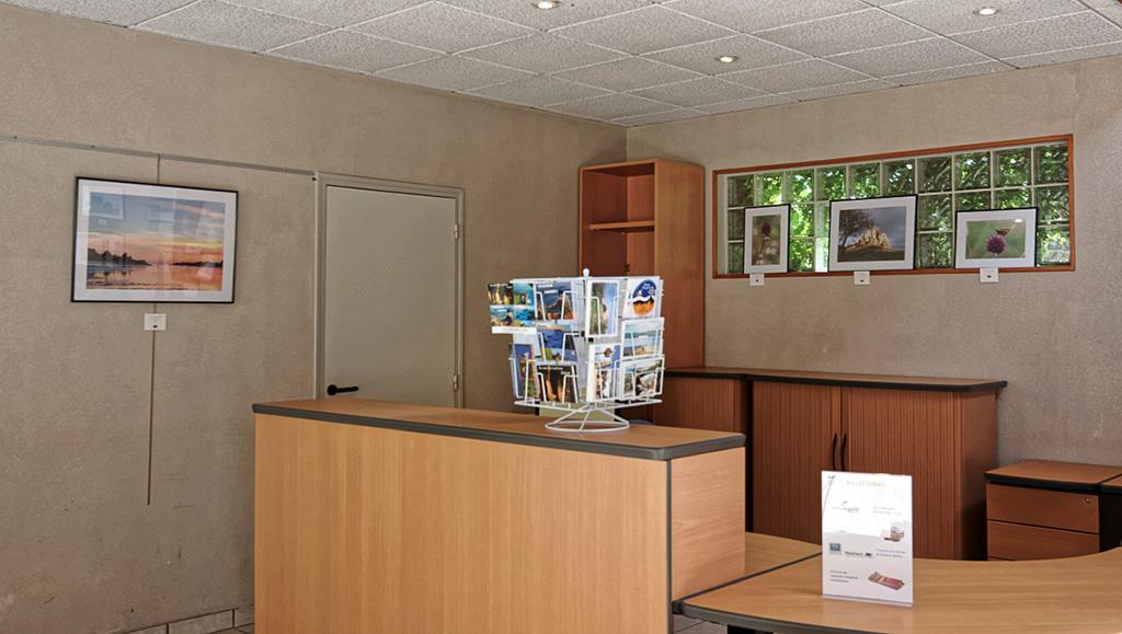 """expo photos """"trofoto"""" Guissény, locaux office du tourisme"""