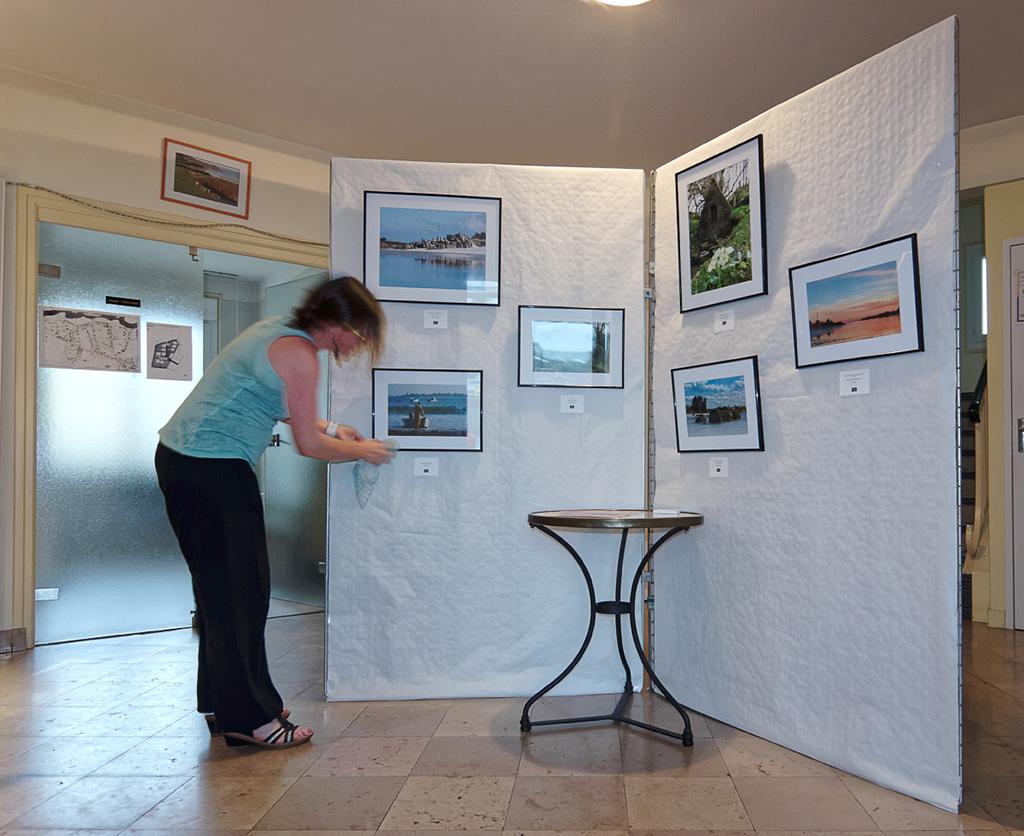 "expo photos ""trofoto"" Guissény, locaux Mairie"