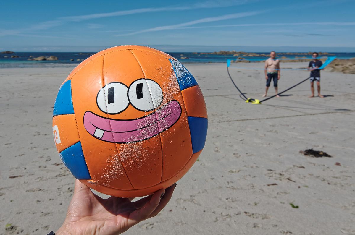ballon de plage, plage, jeux, jeux de plage, Kerlouan, finistère, Bretagne