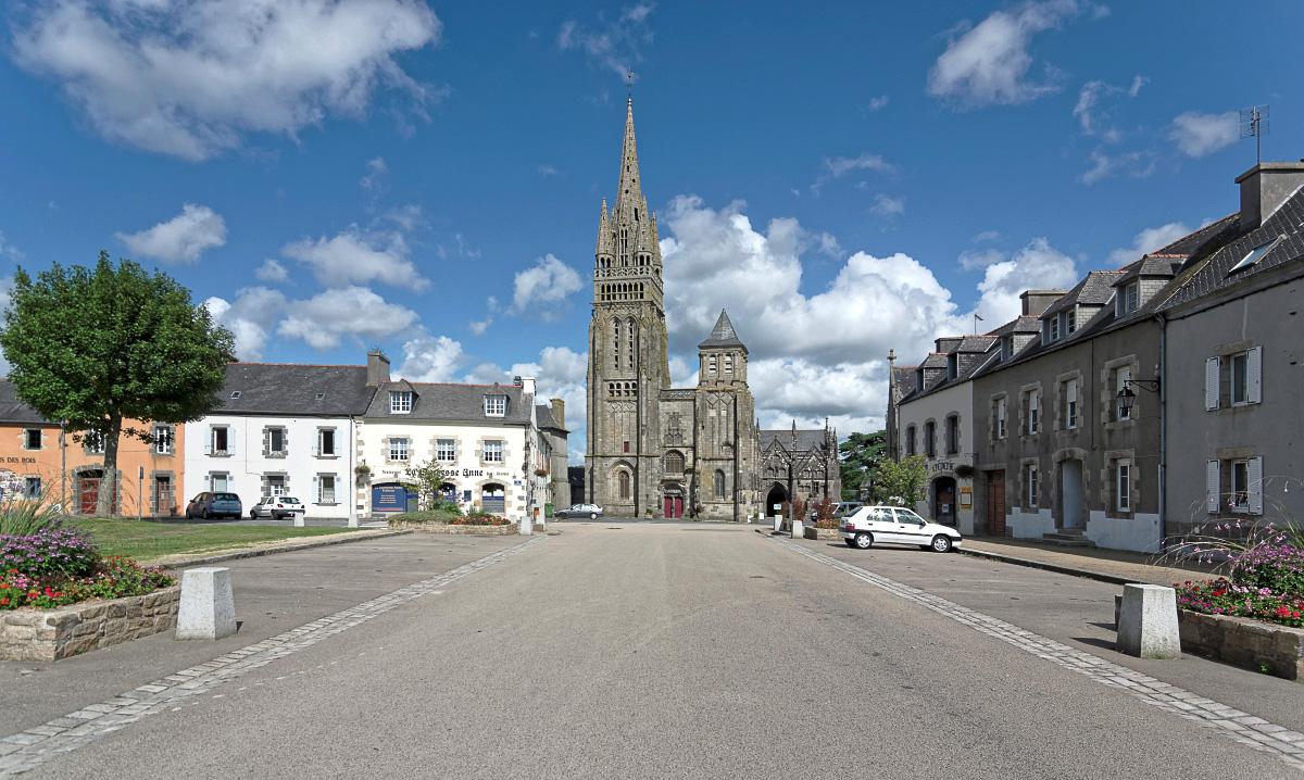 Notre Dame du Folgoet, Le Folgoet, basilique du Folgoet, bretagne, finistère, monument religieux, architecture